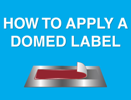 How to Apply a Domed Label